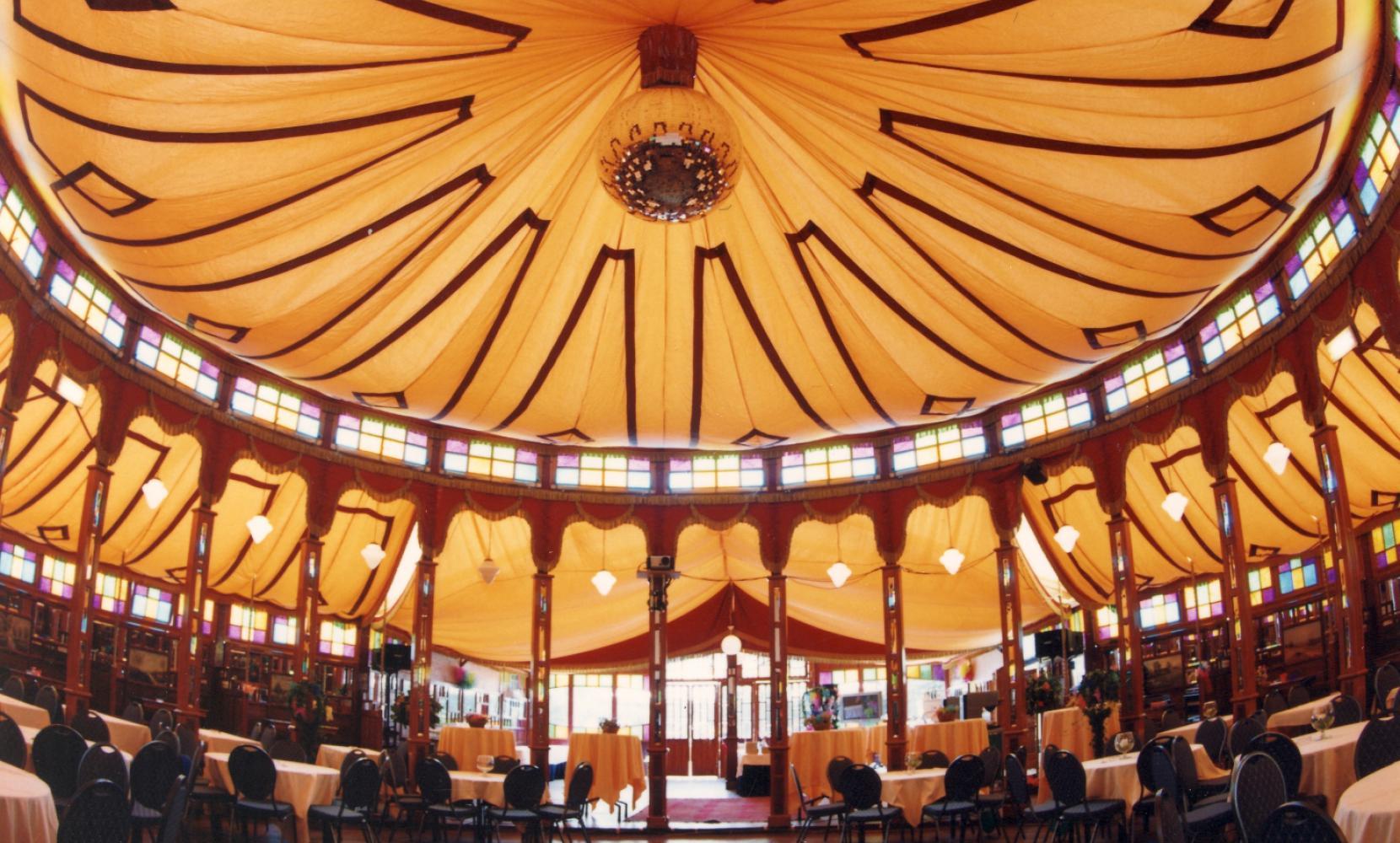 Spiegeltent Cristal Palace Het Spiegelpaleis I