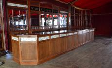 Het Spiegelpaleis - Mirror tent Victoria - bar furniture