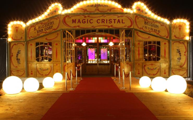 Het Spiegelpaleis - Mirror tent Magic Cristal - front